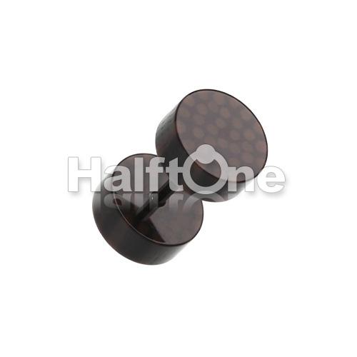 Coco Dots Acrylic Fake Plug