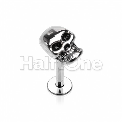 Skull Head Steel Labret