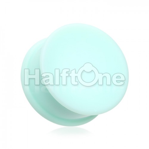 Solid Silicone Ear Skin Double Flared Plug