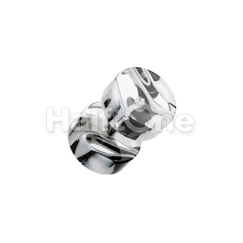 Marble Swirl UV Acrylic Fake Plug
