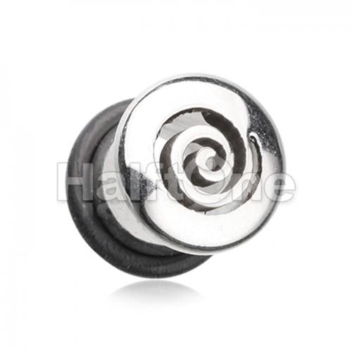 Hypnotic Steel Single Flared Ear Gauge Plug