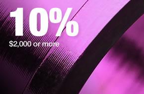 Volume Discount-10% Off
