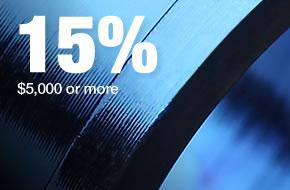 Volume Discount-15% Off